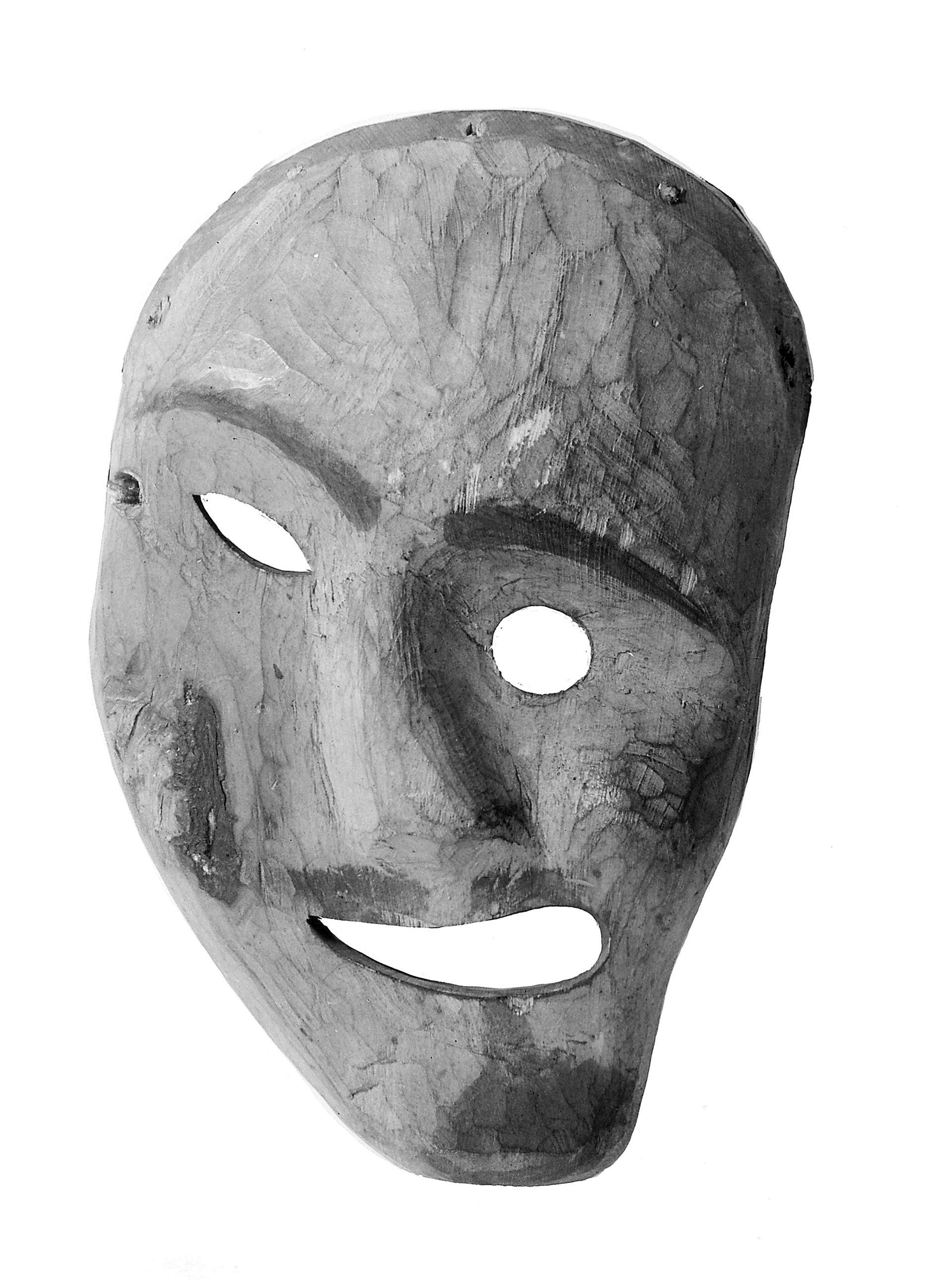 Shaman-mask använd av inuiter.