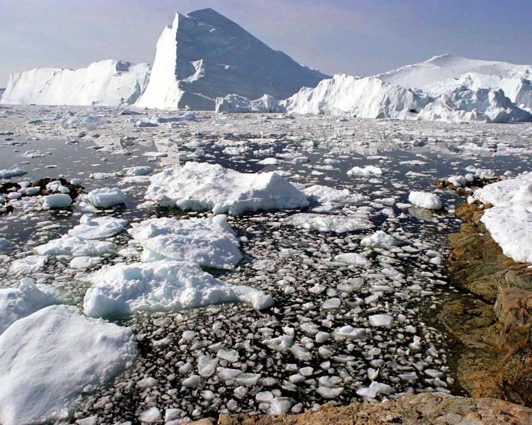 Sommar på Grönland.