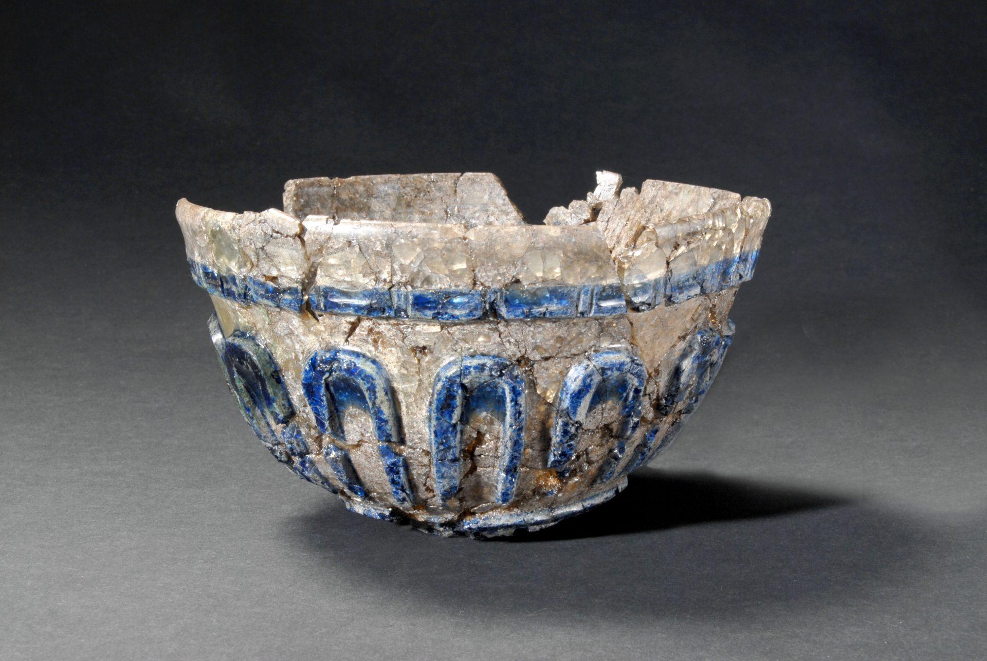 Bild av skål som hittats i Uppåkra.