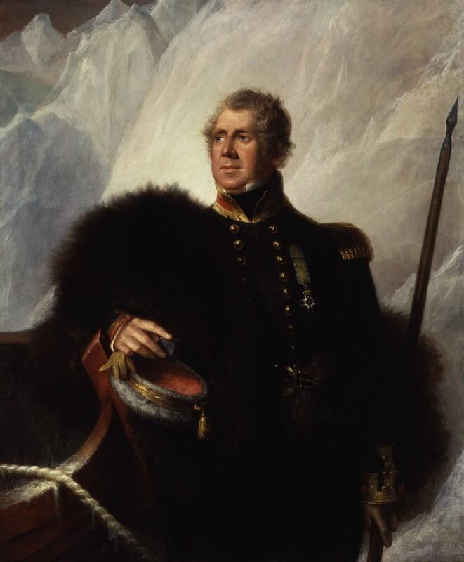 Porträt föreställande kapten John Ross.